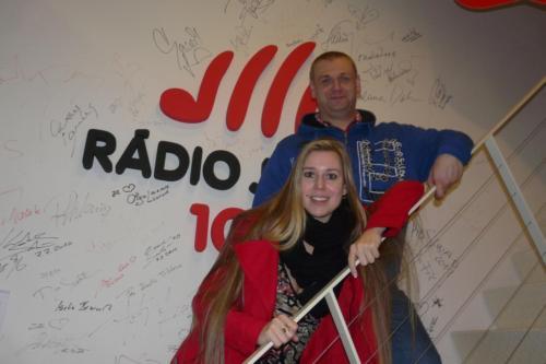 Rádio Jihlava - s Fr.Nedvědem ml. - 1/2014